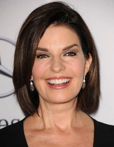 Sela Ward: 57 years young and even more amazing than ever. Love the hair.