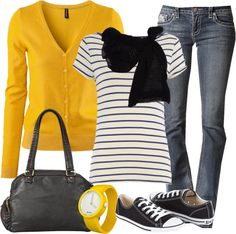 Fall makes me happy so does converse! 45 lovely preppy casual summer outfits for school Fall Winter Outfits, Autumn Winter Fashion, Spring Outfits, Vetements Clothing, Look Fashion, Fashion Outfits, Winter Typ, Looks Jeans, Moda Outfits