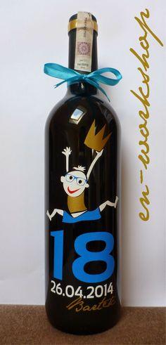 birthday Bottle Opener, Vodka Bottle, Barware, Drinks, Birthday, Wall, Drinking, Beverages, Birthdays