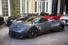 Matte Black Pagani Huayra by Axion23 on Flickr.Via Flickr: Matte...