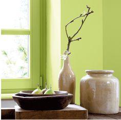 tendance couleurs peinture le vert amande peinture murale Ripolin5 Le vert une autre couleur tendance pour 2012