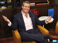 #Andy Cohen.  Mazel.