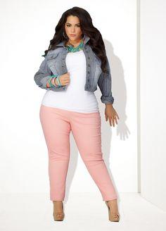 Ashley Stewart  Plus Size Model Nicole Zepeda