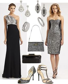 ad722bd7004a5 What to Wear to a Glamorous Black Tie Event Holiday Party Dresses, Black Tie ,