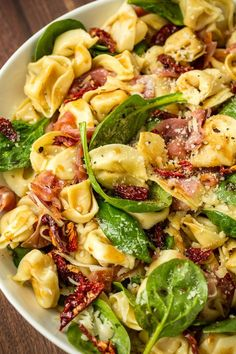 400327854376570378 Our Tuscan Tortellini Salad Is the Ultimate Party Pleaser . 400327854376570378 Our Tuscan Tortellini Salad Is the Ultimate Party Pleaser . Best Salad Recipes, Healthy Recipes, Vegetarian Recipes, Healthy Meals, Salami Recipes, Chopped Salad Recipes, Pasta Salat, Easy Pasta Salad Recipe, Pasta Salad Recipes Cold