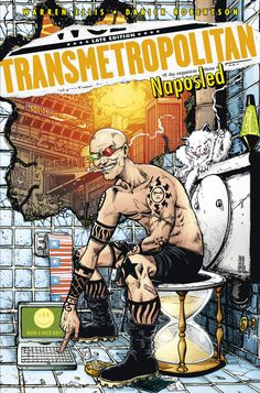 Warren Ellis, Darick Robertson: Transmetropolitan: NAPOSLED (10. díl série TRANSMETROPOLITAN) - vázaná