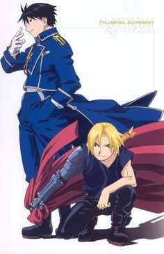 Roy Mustang & Edward Elric