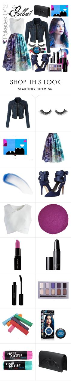 """042 Golbat - Pokedex"" by kalisahgemini ❤ liked on Polyvore featuring LE3NO, Chicwish, Lipstick Queen, Alice + Olivia, Christian Louboutin, Smashbox, NARS Cosmetics, Sigma Beauty, Stila and Bernard Delettrez"