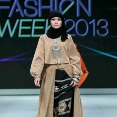 hijab on the Cat walk.