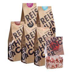 REISHUNGER Kennenlern Set - verschiedene Sorten, quer aus dem Sortiment zum Kennenlernen #reishunger #rice #set #gift