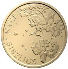 100 euro oro Filnlandia 2015. 150° anniversario della nascita del compositore Jean Sibelius