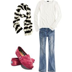 """Simple Fall Outfit"" by runoneaglewings on Polyvore"