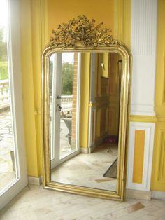 1000 id es sur le th me miroirs d 39 or sur pinterest for Miroir style louis philippe