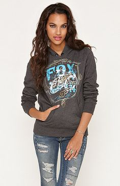 (Limited Supply) Click Image Above: Womens Fox Hoodie - Fox On Edge Pullover Hoodie Country Girl Style, My Style, Pacsun Outfits, Fox Racing Clothing, Sweater Hoodie, Pullover, Races Outfit, Fox Girl, Lifestyle Clothing
