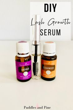 DIY Lash Growth Serum - Check out this awesome lash growth serum to help grow long, thick eyelashes! This lash serum is perfect if you are looking for an alternative to lash extensions! Young Living Lavender, Young Living Oils, Young Living Essential Oils, Essential Oil Blends, Young Living Hair, Copaiba Essential Oil, Essential Oil Spray, Beauty Care, Diy Beauty