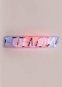 Trending: Neon and illuminated lettering Light Art, Neon Rose, Neon Words, All Of The Lights, Neon Glow, Light Installation, Neon Lighting, Signage, Iphone Wallpaper