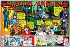 Captain America Splash page