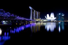 Photograph MARINA BAY HOTEL SINGAPORE by Yannick Penven on 500px