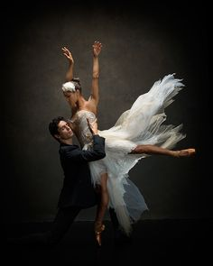 Misty Copeland will be in Swan Lake today with American Ballet Theatre - wish we could be there! Misty Copeland and Alexandre Hammoudi. Dress by Trash-Couture. Hair and makeup by Juliet Jane. Misty Copeland, American Ballet Theatre, Ballet Theater, Dance Like No One Is Watching, Just Dance, Dance Project, Ballerina Project, Dance World, Dance Movement
