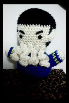 """Star Trek Spock crochet amigurumi plush by NerdigurumiNation"" #Amigurumi  #crochet"