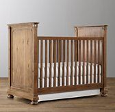 RH Baby & Child's Jameson Panel Crib:Our Jameson collection pays homage to turn-of-the-century design, with classic architectural detailing, rustic cast-metal hardware and bun feet.GREENGUARD Gold Certified. Meets or exceeds stringent chemical emissions standards. Learn more.SHOP THE ENTIRE COLLECTION ▸
