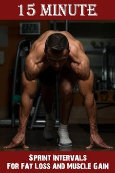 15 Minute Sprint Intervals For Fat Loss and Muscle Gain http://www.justinkavanaghfitness.com/sprint-intervals-for-maximum-fat-loss/ http://www.dailyquinoa.com