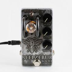 Triode Pedals - Beelzebub Boost - Tube Boost - Handmade - | Reverb