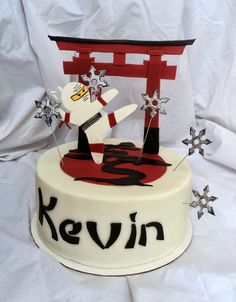 Cutest ninja cake ever!