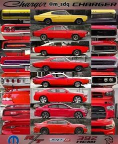 Dodge charger generations
