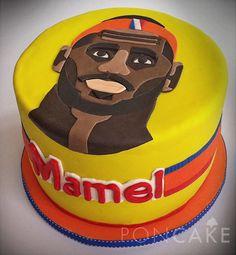 Lebron James Cake - Basketball Cake - Torta de Lebron James - Torta de Baloncesto