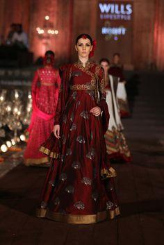 Rohit Bal fashion week wifwss15 fdci