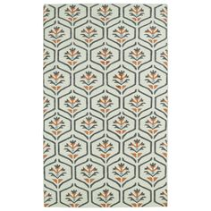 This Hollywood beige floral flatweave rug comes with a trendy sense of fashion, combined with sophistication and style. This rug is handmade of 100-percent wool and is reversible for years of durability.
