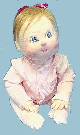 Doll Net Market/Internet Visions Company :: Baby/Children Doll Patterns! :: The Four Stages of Infancy Dolls