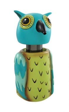 Allen Designs Whimsical Wise Owl Soap / Lotion Dispenser