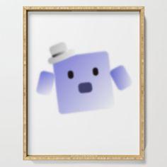 Jazz Robo Block Serving Tray by edream Cute Gifts, Jazz, Tray, Beautiful Gifts, Jazz Music, Trays, Board