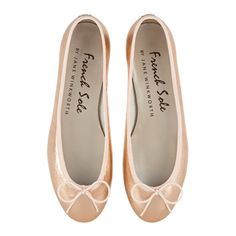 henrietta nude metallic leather (HE904)|French Sole