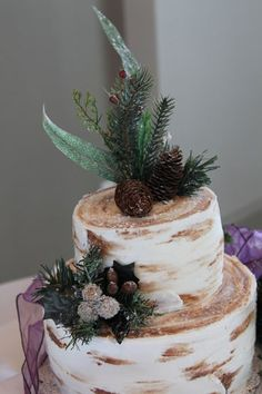 1000 Images About Tree Bark Cake On Pinterest Tree