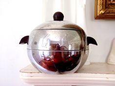 Vintage Ice Bucket Chrome Orb Atomic Mod by TheOrangeCollective, $26.50
