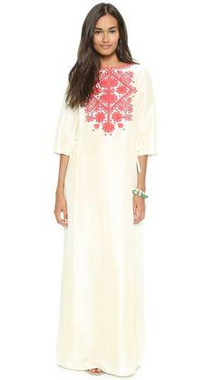 Tory Burch Roxanne Caftan Maxi Dress RETAIL $995~WISH PRICE $490 NWT
