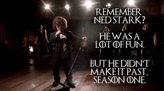 And an excerpt on on Coldplay's Facebook page has Tyrion Lannister (Peter Dinklage) singing this: