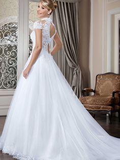 Vestidos de noiva - Coleção Callas (25) Costas