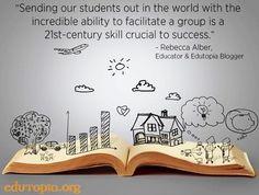 Leadership quote via www.Edutopia.org