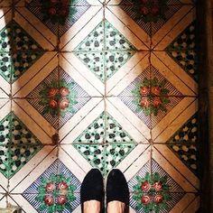 Amalfi Cathedral tiles.