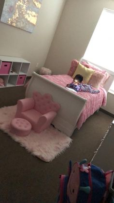 Unique Girls Bedroom Ideas for Small Rooms ~ Beautiful House Baby Bedroom, Girls Bedroom, Bedroom Decor, Bedroom Ideas, Girl Nursery, Toddler Rooms, Toddler Girl Bedrooms, Toddler Princess Room, Girl Bedroom Designs