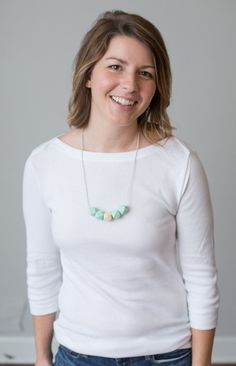 Silicone Teething Necklace - no. 057 - The Vintage Honey Shop #vhpingiveaway
