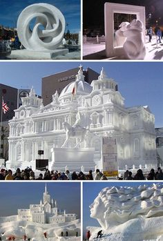 42 Wonderful Works of Water, Snow and Ice Art - WebEcoist Sculpture Textile, Sculpture Art, Abstract Sculpture, Bronze Sculpture, Sculpture Ideas, Wassily Kandinsky, Snow Sculptures, Metal Sculptures, Ice Art