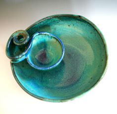 Chip and Dip, handmade ceramic dish, ceramics and pottery