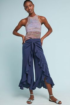 6dd5f0129d5 Slide View  3  Ruffle-Wrapped Pants