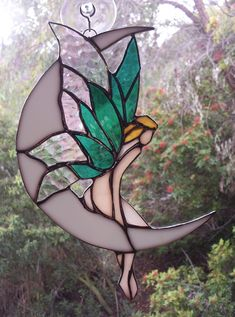 stained glass fairies - Google Search #StainedGlassFairy