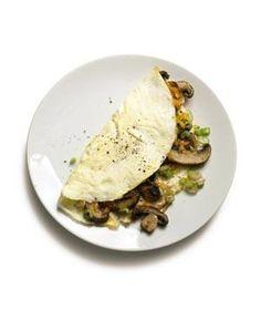 Mushroom and Egg White Omelet | RealSimple.com